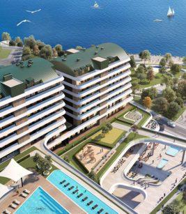 آپارتمان 2 خوابه 176متری دوبلکس در منطقه Büyükçekmece