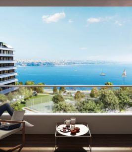 آپارتمان 5 خوابه261 متری دوبلکس در منطقه Büyükçekmece