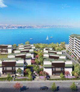 آپارتمان 3 خوابه 218 متری در منطقه Büyükçekmece استانبول