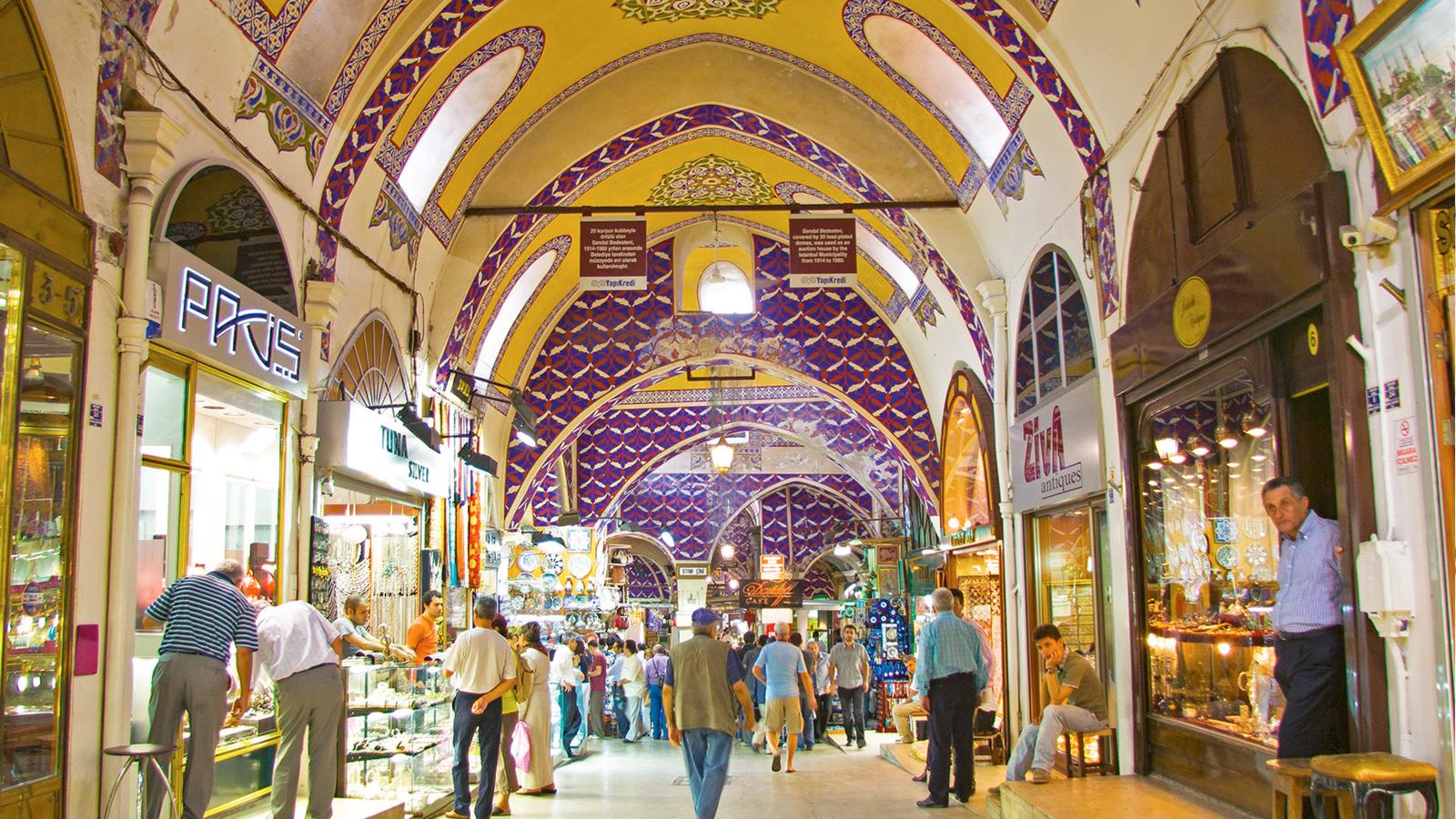 کاپالی چارشی (گرند بازار) استانبول
