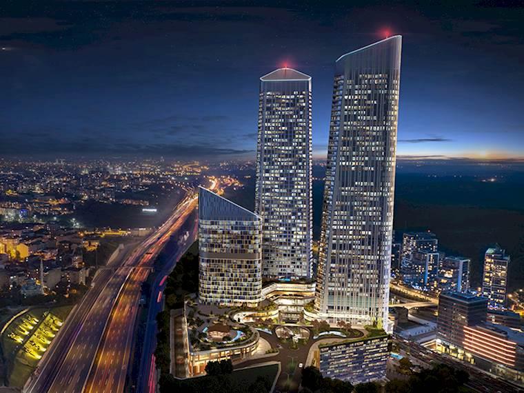 بلندترین برج های استانبول: