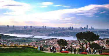 """یک تفریح فوق العاده در استانبول """"تپه چاملیجا"""""""