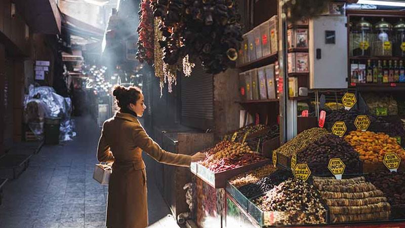 هزینه زندگی در استانبول و خرید مواد غذایی