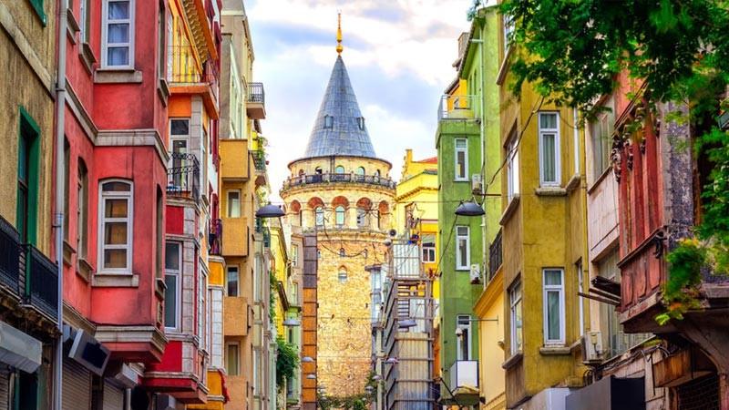 هزینه زندگی در استانبول؛ محله گالاتا تاور