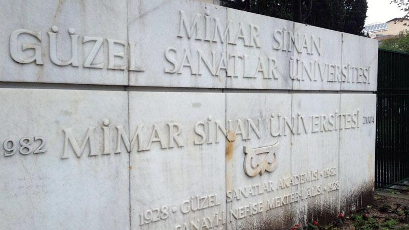 دانشگاه هنرهای زیبا معمار سینان، اولین دانشگاه هنری در ترکیه
