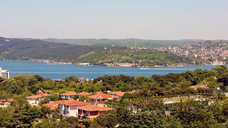 تارابیا یکی از محلههای برتر و گران استانبول نزدیک به میدان تکسیم