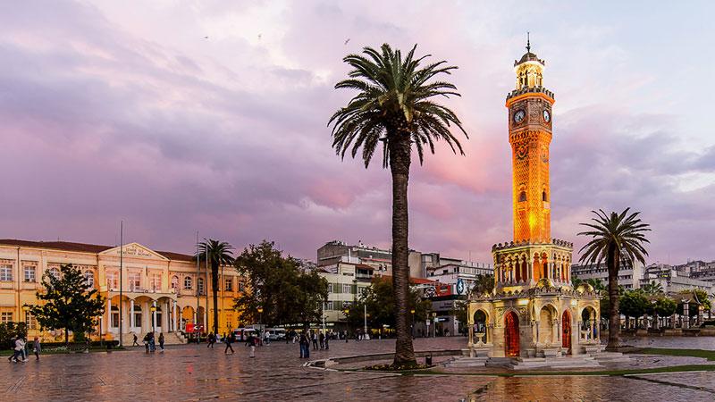 شهر ازمیر ترکیه؛ یکی از بزرگترین بندرهای ترکیه و شهری پر از امنیت و آرامش